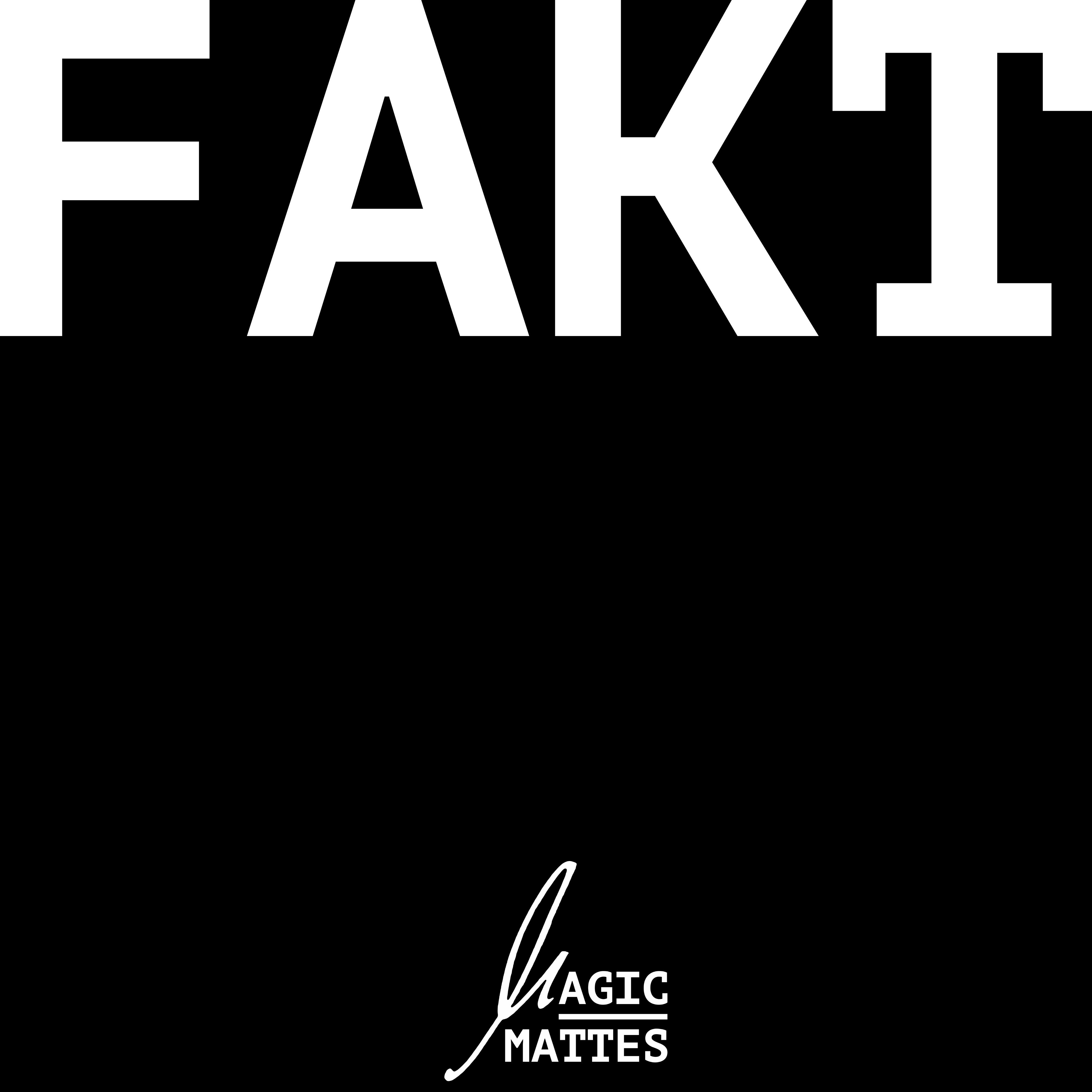 """Cover der Single """"Fakt"""" von Magic Mattes"""